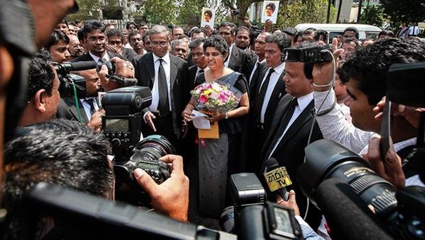 Shirani Bandaranayake resumes duties as Chief Justice in Sri Lanka