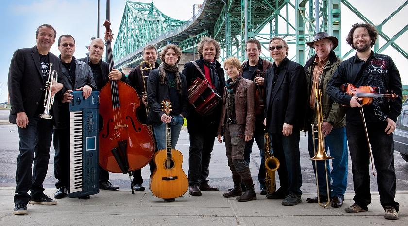Legendary Quebec Folk Group La Bottine Souriante performs at Flato Markham Theatre
