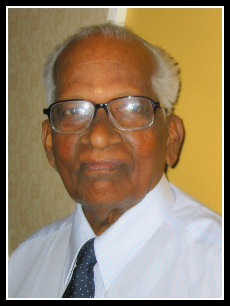 Passing of my 95 year old Grandfather: A Legend in Sri Lankan Insurance Industry