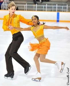 Tamil Canadian youth Priya Ramesh excels in Ice Dancing