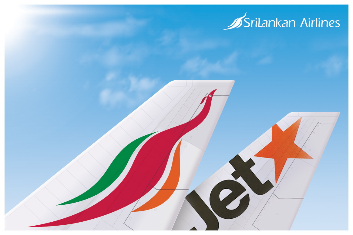 Jetstar Asia and SriLankan Airlines launch new codeshare