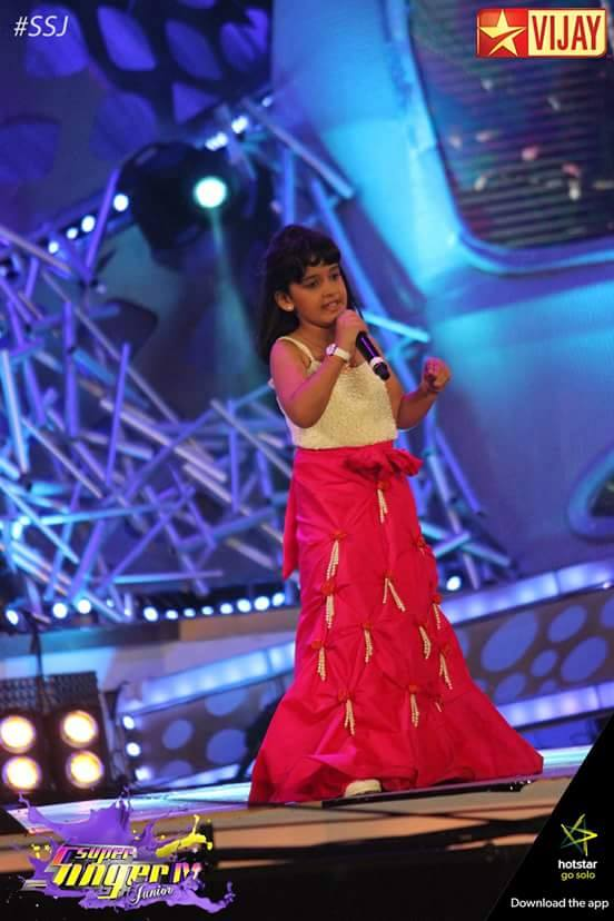 Spoorthi Santosh Rao, the Super Singer Junior 4 Winner