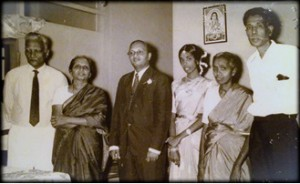 Mr. Rajanayagam family