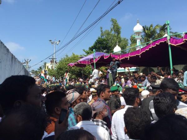 Kalam funeral