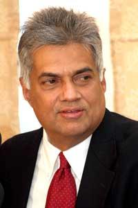 Prime Minister of Sri Lanka Ranil Wickremesinghe