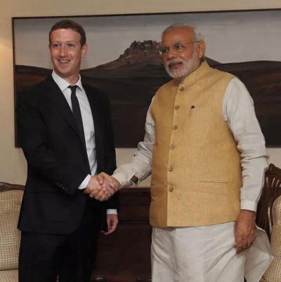 Indian Prime Minister Narendra Modi to meet Facebook CEO Mark Zuckerberg in California