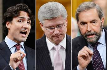 Canada Elections 2015 ~ The Final Push: Polls surveys indicate Liberals Leading