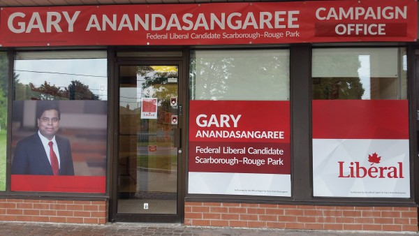Gary Anandasangaree, the most ideal representative for Scarborough-Rouge Park