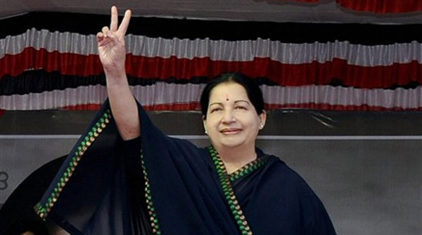 Jayalalitha's AIADMK  heading towards victory in Tamil Nadu elections