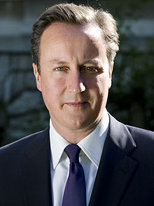 David Cameron, British PM