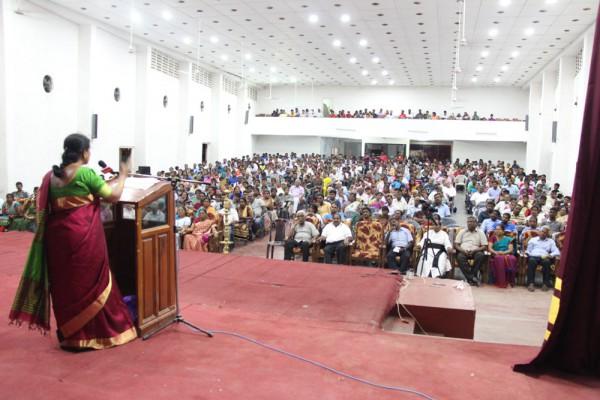 Event at Jaffna Veerasingam Hall, Sri Lanka