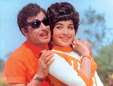 J. Jayalalithaa and MGR