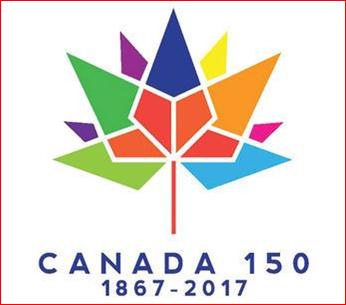 Canada Day 150  Logo