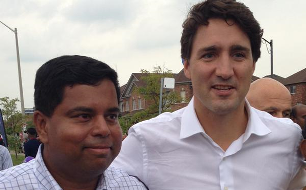 Prime Minister Trudeau praises contributions of Canadian Tamils to Canadian Society