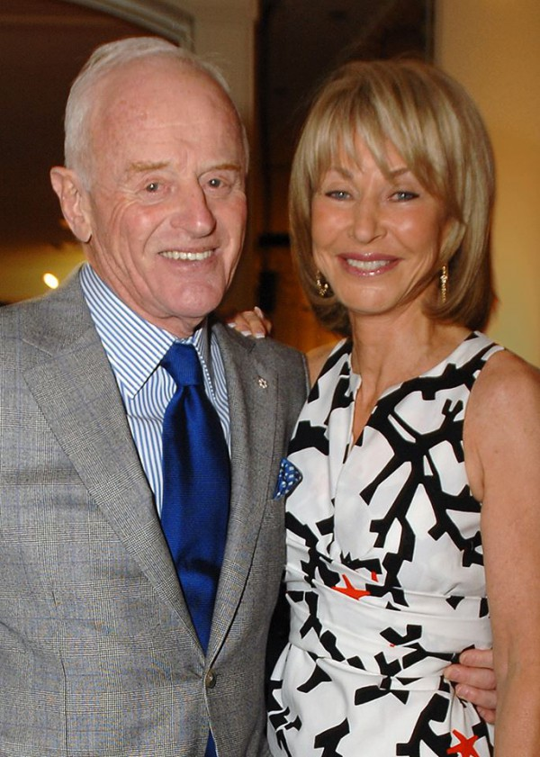 Peter Munk and wife Melanie Munk